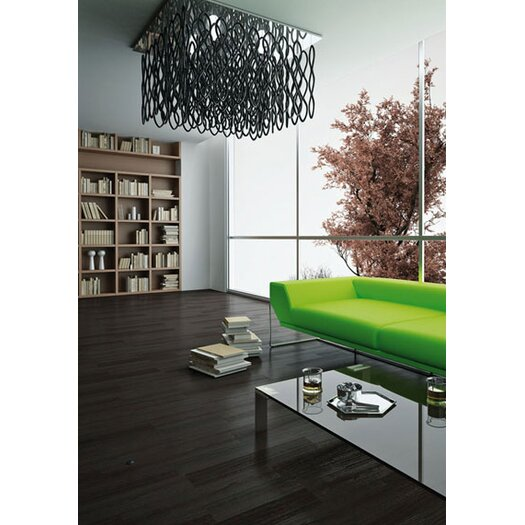 "Studio Italia Design Lole 23.6"" Square Suspension"