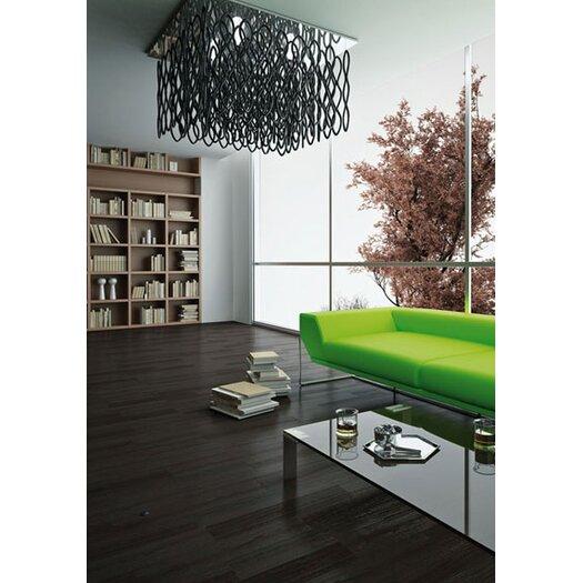 "Studio Italia Design Lole 29.5"" Pyramid Suspension"