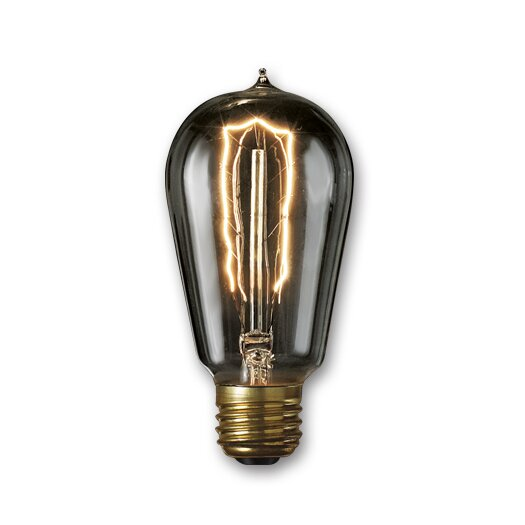 Bulbrite Industries 40W Smoke Incandescent Light Bulb