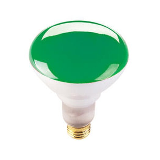 Bulbrite Industries 75W Green 120-Volt Halogen Light Bulb