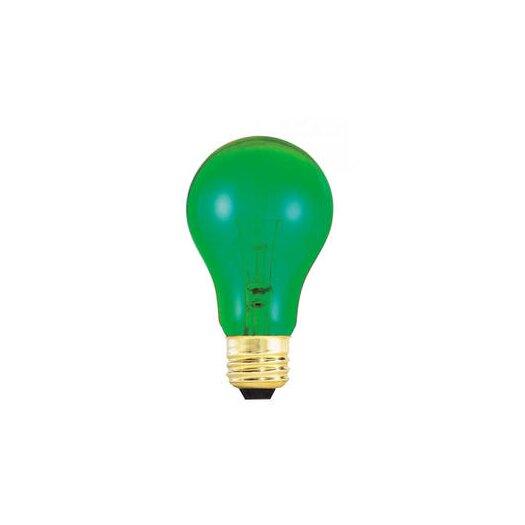 Bulbrite Industries 25W Green 120-Volt Incandescent Light Bulb