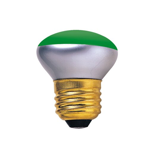 Bulbrite Industries 40W Green 120-Volt Incandescent Light Bulb