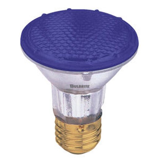 Bulbrite Industries 50W Blue 120-Volt Halogen Light Bulb