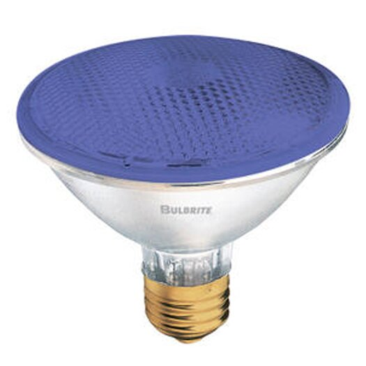 Bulbrite Industries 75W Blue 120-Volt Halogen Light Bulb