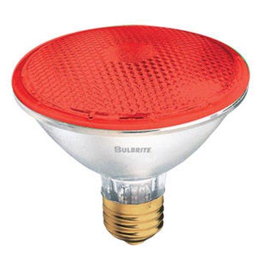 Bulbrite Industries 75W Red 120-Volt Halogen Light Bulb
