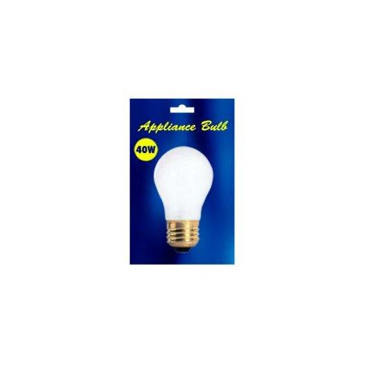 Bulbrite Industries 40W 130-Volt (2700K) Incandescent Light Bulb