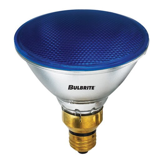 Bulbrite Industries 90W Blue 120-Volt Halogen Light Bulb