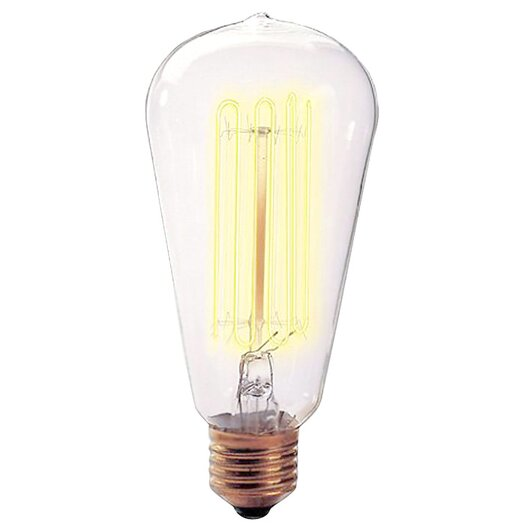 Bulbrite Industries Nostalgic Edison 40W 120-Volt Incandescent Light Bulb II