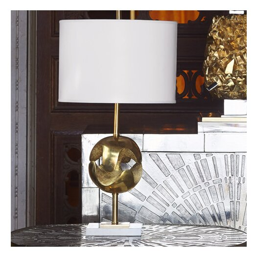 "Jonathan Adler Marais 20"" H Table Lamp with Drum Shade"