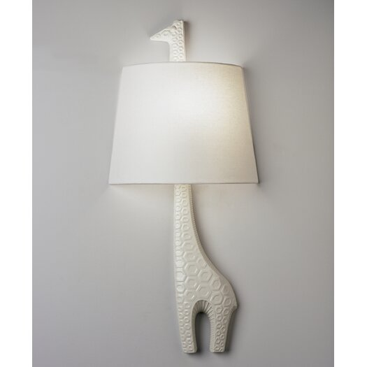 Jonathan Adler Jonathan Adler Left Facing Giraffe 1 Light Wall Sconce