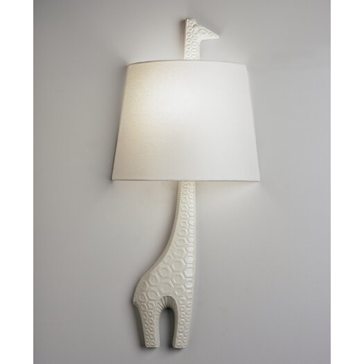Jonathan Adler Jonathan Adler Right Facing Giraffe 1 Light Wall Sconce