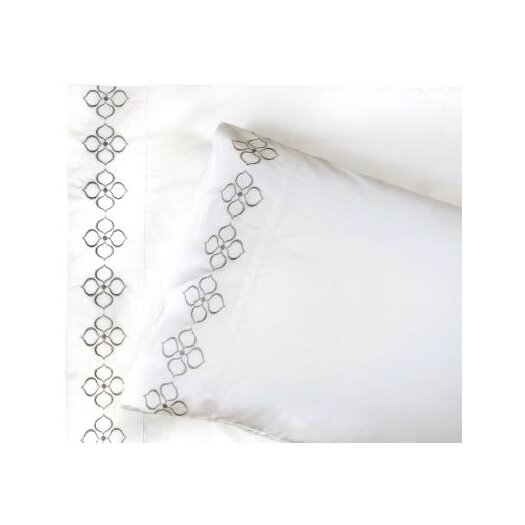 Jonathan Adler Hollywood Embroidered Sheet Set