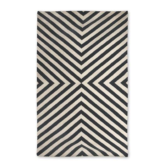Jonathan Adler Bridget Kilim Black/White Area Rug