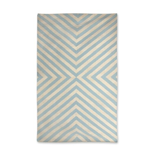 Bridget Kilim Light Blue/Natural Area Rug