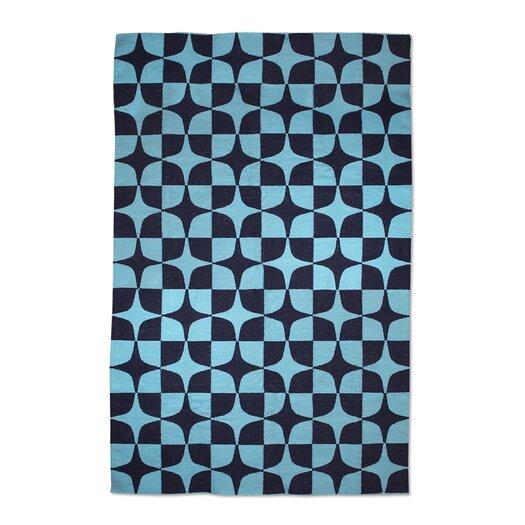 Jonathan Adler Josef Kilim Blue Area Rug