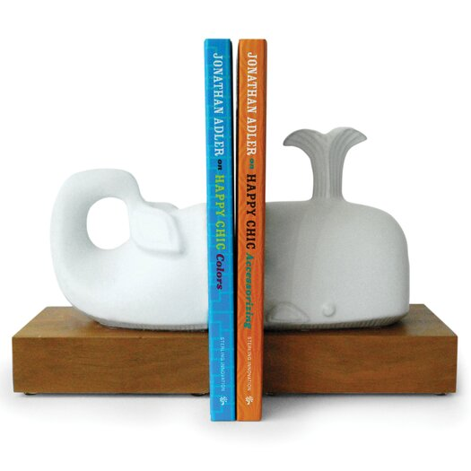 Jonathan Adler Whale Book Ends