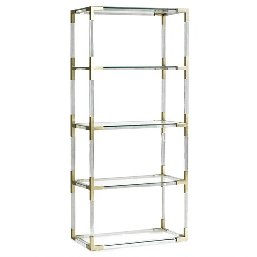 jonathan adler jacques etagere 66 bookcase allmodern. Black Bedroom Furniture Sets. Home Design Ideas