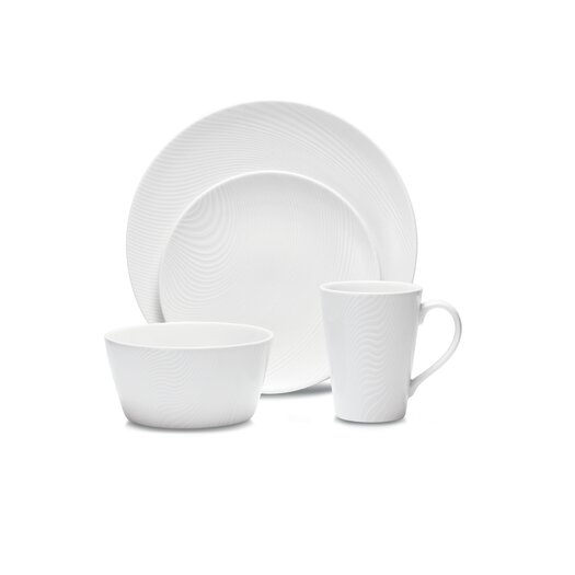 Noritake WoW Dune 4 Piece Place Setting