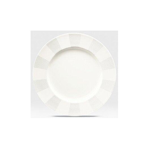 "Noritake Falling Snow 11"" Dinner Plate"