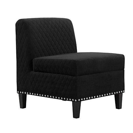 Handy Living Wrigley Storage Side Chair