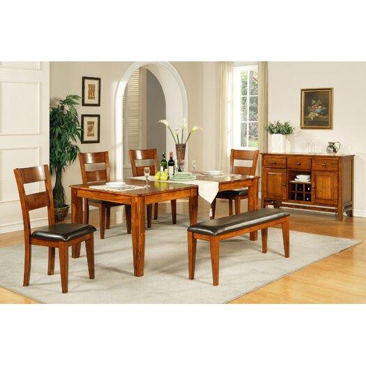 Steve Silver Furniture Mango Wood Kitchen Bench