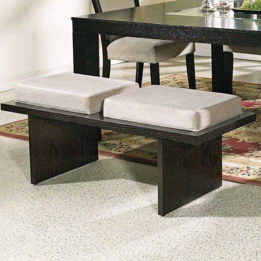 Steve Silver Furniture Movado Velvet Kitchen Bench