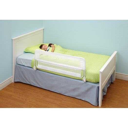 DexBaby Safe Sleeper Bedrail Ultra 48 x 18 Fold Down Bed Rail