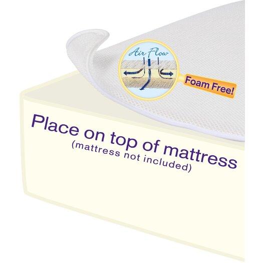 "DexBaby Breathe Free Miracle Mat 3"" Mattress Pad"