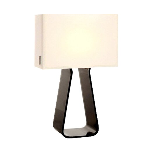 Pablo Designs Tube Top Table Lamp with Rectangle Shade