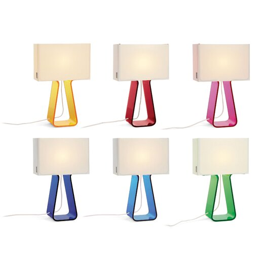 Pablo Designs Tube Top Table Lamp - Colors