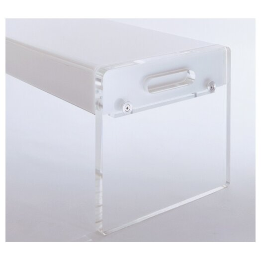 Pablo Designs Light Acrylic Bench