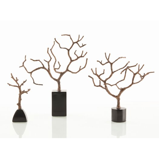 ARTERIORS Home 3 Piece Set Banyan Sculpture