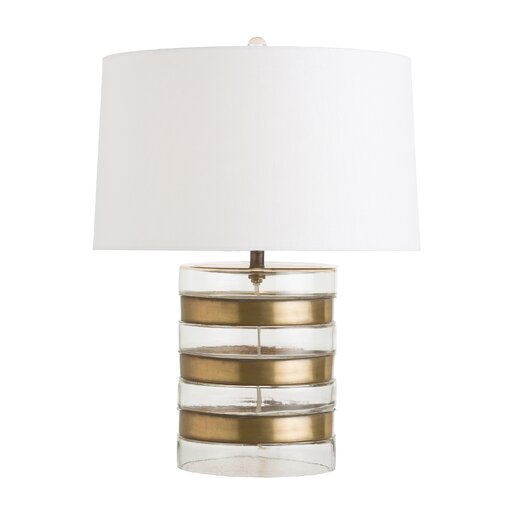 """ARTERIORS Home Garrison 22.5"""" H Table Lamp with Drum Shade"""