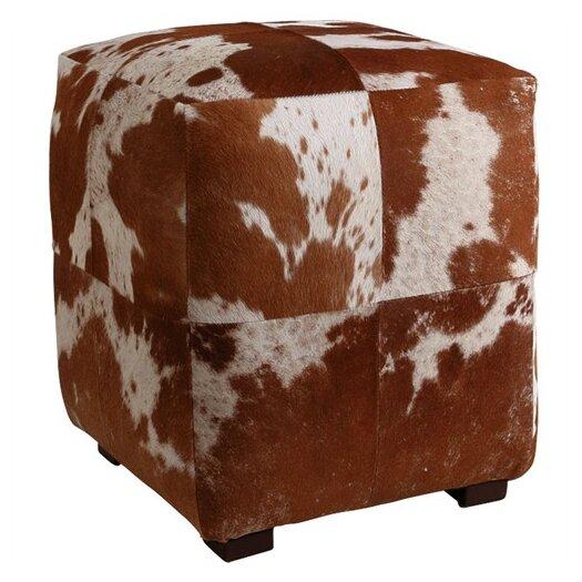 ARTERIORS Home Otto Leather Cube Ottoman
