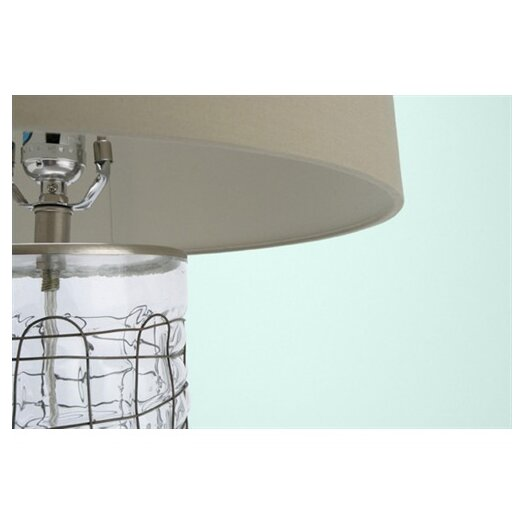 "ARTERIORS Home Caged 29"" H Table Lamp with Drum Shade"