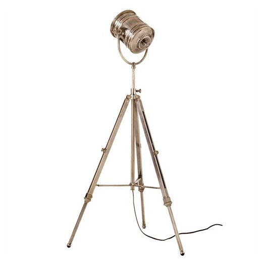 "ARTERIORS Home Monahan Tripod Adjustable 38.5"" H Table Lamp with Bowl Shade"