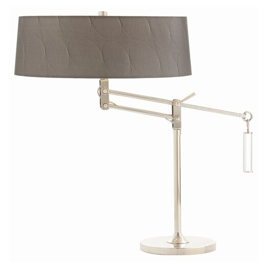 "ARTERIORS Home Jacqueline Adjustable 22"" H Table Lamp with Oval Shade"