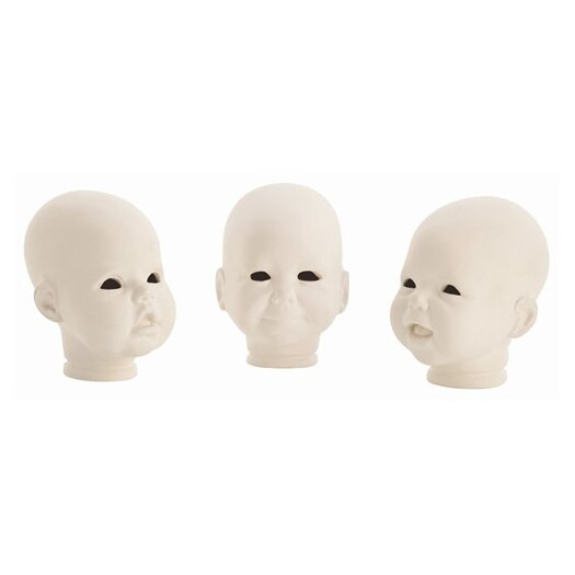 ARTERIORS Home 3 Piece Snoki Doll Heads