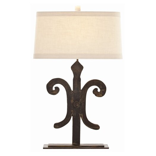 "ARTERIORS Home Blackburn 29"" H Table Lamp with Oval Shade"