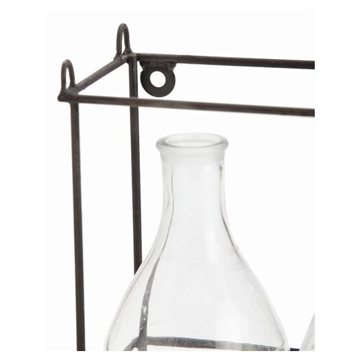 ARTERIORS Home Petworth Iron and Glass Caddy