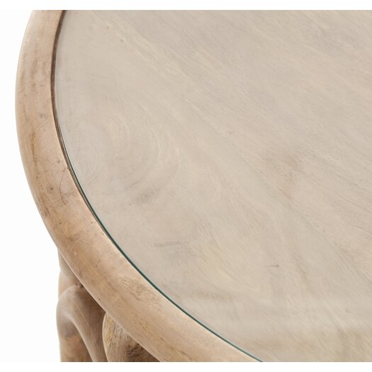 ARTERIORS Home Kamal Hand Carved End Table