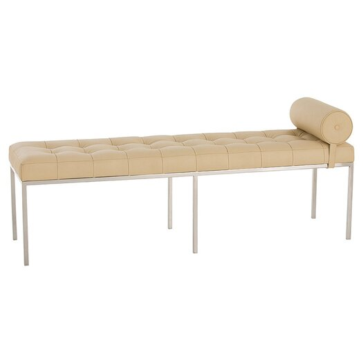 ARTERIORS Home Grayson Leather Bedroom Bench