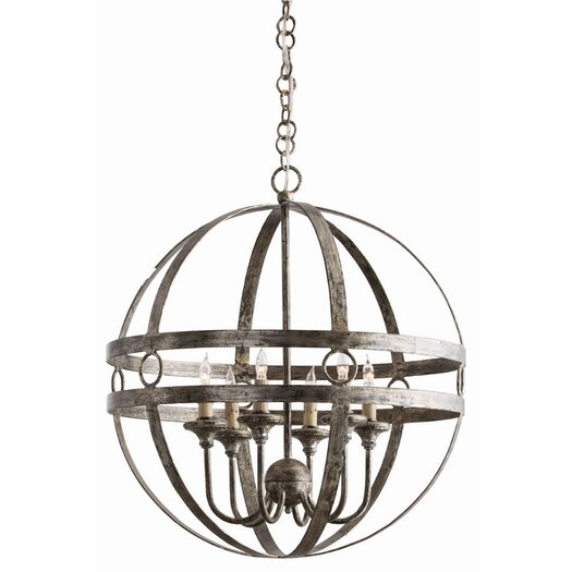 ARTERIORS Home Hollace 6 Light Mini Chandelier