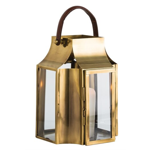 ARTERIORS Home Hailey Stainless Steel Lantern