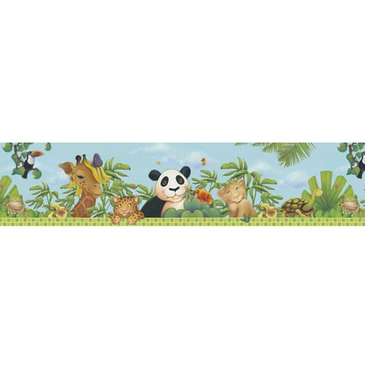 4 Walls Jungle Wallpaper Border