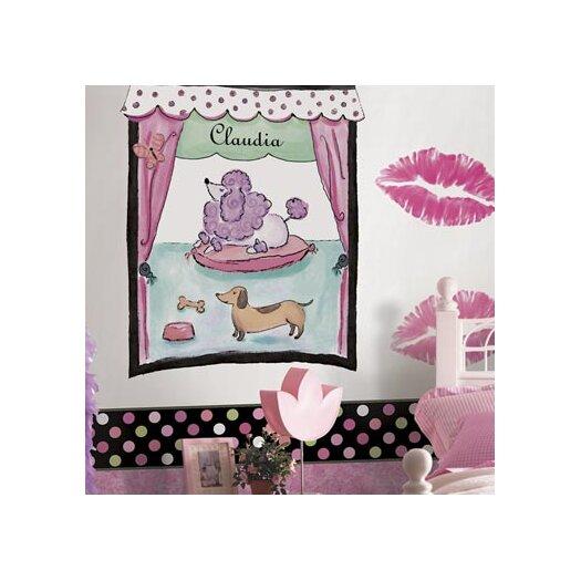 4 Walls Whimisical Wall Borders Candy Polka Dot Wallpaper Border
