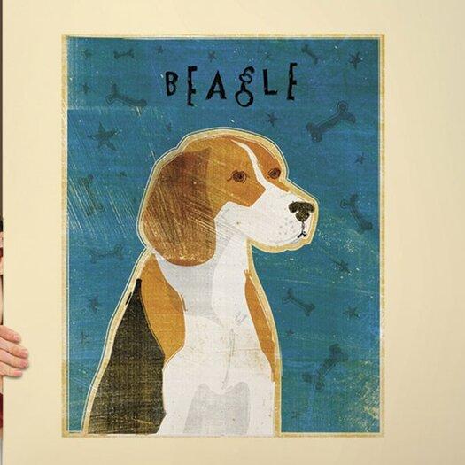 4 Walls Top Dog Beagle Wall Decal