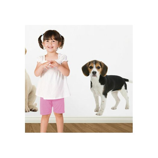 4 Walls Puppy Love Beagle Wall Decal
