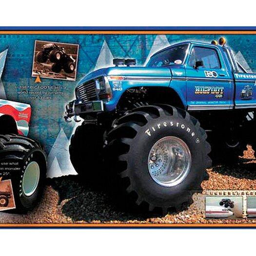 4 Walls Bigfoot Free Style Wallpaper Border