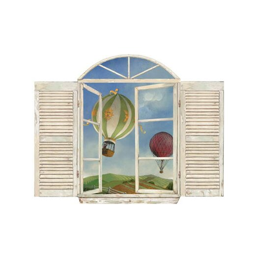 4 Walls Balloon Window Wall Decal